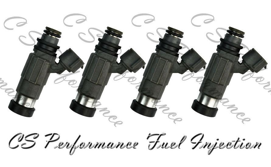 OEM Nikki Fuel Injectors Set (4) CDH-166 for 1997-2002 Chevy Mitsubishi Suzuki