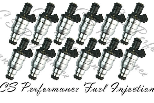 OEM Lucas Fuel Injectors Set (12) D3762FA for 1988-1997 BMW 5.0L 5.4L V12