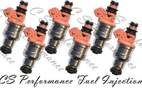 OEM Nikki Fuel Injectors Set (6) INP-532 for 94-96 Mitsubishi Dodge 3.0L V6