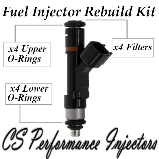 Fuel Injectors Rebuild Repair Kit fits 0280158105 for 06-10 Ford Mercury 2.3 2.0