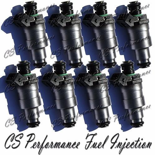 OEM Lucas Fuel Injectors Set (8) D1830GA for 89-98 Land Rover 3.9 4.0 4.2 4.6 V8