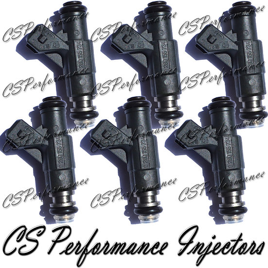 OEM Bosch Fuel Injectors Set (6) 0280155734 for 97-98 Ford Mercury 4.0L V6