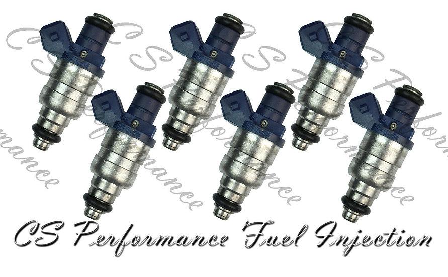 OEM Siemens Fuel Injectors Set (6) 078133551L for 1997-2005 Audi VW 2.8L V6
