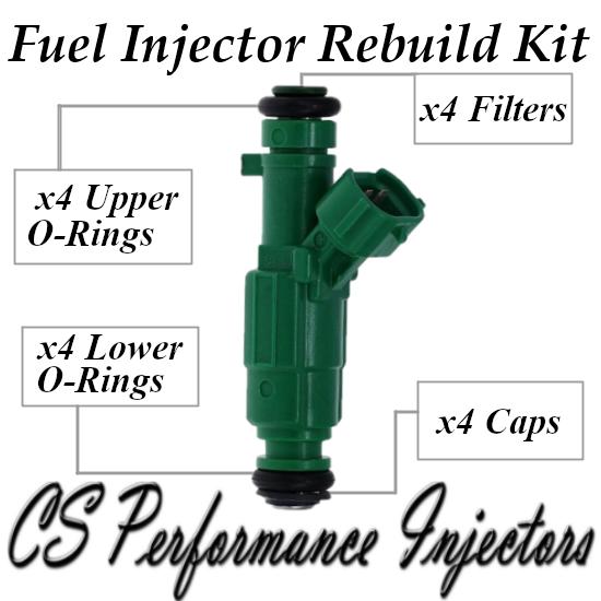 Fuel Injectors Rebuild Repair Kit fits 35310-25200 for 06-10 Hyundai Kia 2.4L
