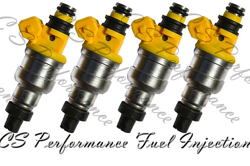 OEM Fuel Injectors Set (4) INP-063 for 1992-1996 Mitsubishi Eagle Colt 1.8L I4