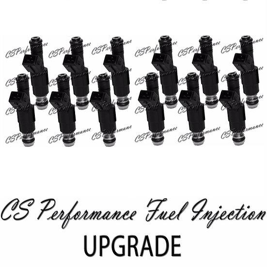 Bosch III UPGRADE Fuel Injectors (12) Set For XJ220 Jaguar Replaces 0280150712