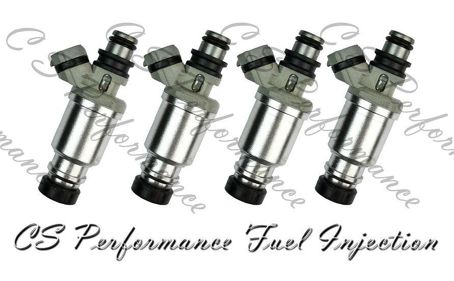 OEM Denso Fuel Injectors Set (4) 23250-16120 for 1989-1993 Toyota Geo 1.6L I4