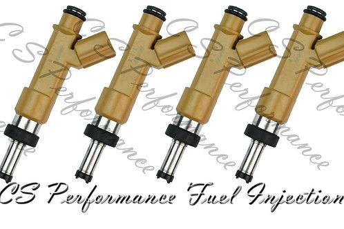 OEM Denso Fuel Injectors Set (4) 23250-0T020 for 2009-2019 Toyota Pontiac 1.8 I4