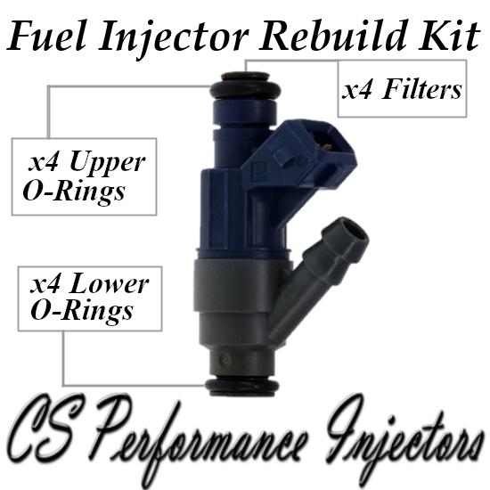 Fuel Injectors Rebuild Repair Kit fits 0280155791 for 98-01 Volkswagen 2.0 I4 VW