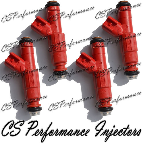 OEM Bosch Fuel Injectors Set (4) 0280156161 for 03-07 Ford Focus 2.0L 2.3L Cali