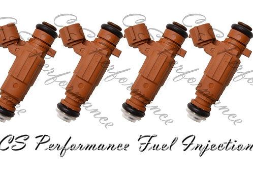 Fuel Injectors Set for Hyundai (4) 0K2A5-13250 for 1998-2004 Kia 1.8L L4