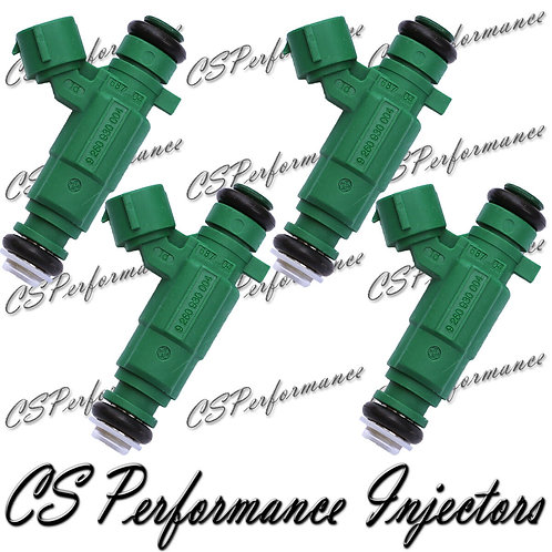OEM Denso Fuel Injectors Set for Hyundai Kia (4) 35310-37150 2006-2010 1.6L I4