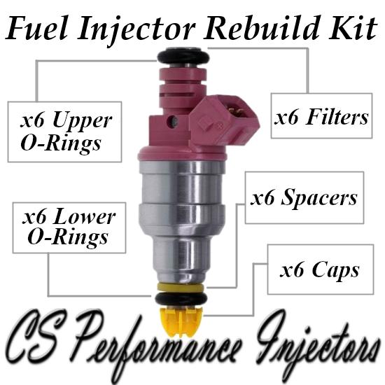Fuel Injector Rebuild Repair Kit for Bosch 0280150440 96-00 BMW 2.8L 3.2L I6