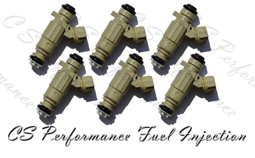 Fuel Injectors Set for Hyundai (6) 35310-39030 Rebuilt & Flow Matched in the USA