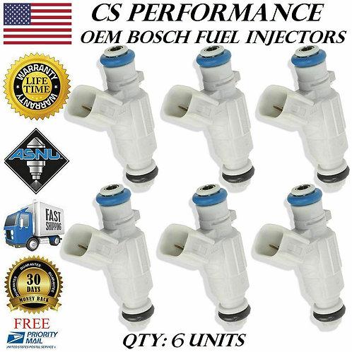 OEM Bosch Fuel Injectors Set (6) 0280156248 for 05-06 Cadillac CTS 2.8L V6