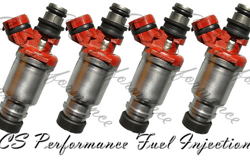 OEM Denso Fuel Injectors Set (4) 23250-16160 for 1993-1997 Toyota Geo 1.8L I4