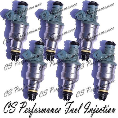 OEM Bosch Fuel Injectors Set (6) 0280150715 for 87-97 BMW 2.5 I6 5.0 5.4 5.6 V12