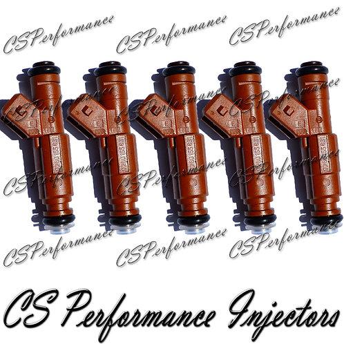 OEM Bosch Fuel Injectors Set (5) 0280155831 for 1998-2009 Volvo 2.4L 2.5L I5