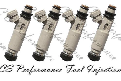 OEM Denso Fuel Injectors Set for Hyundai Kia (4) 35310-23700 2.0L 03-07 12-hole
