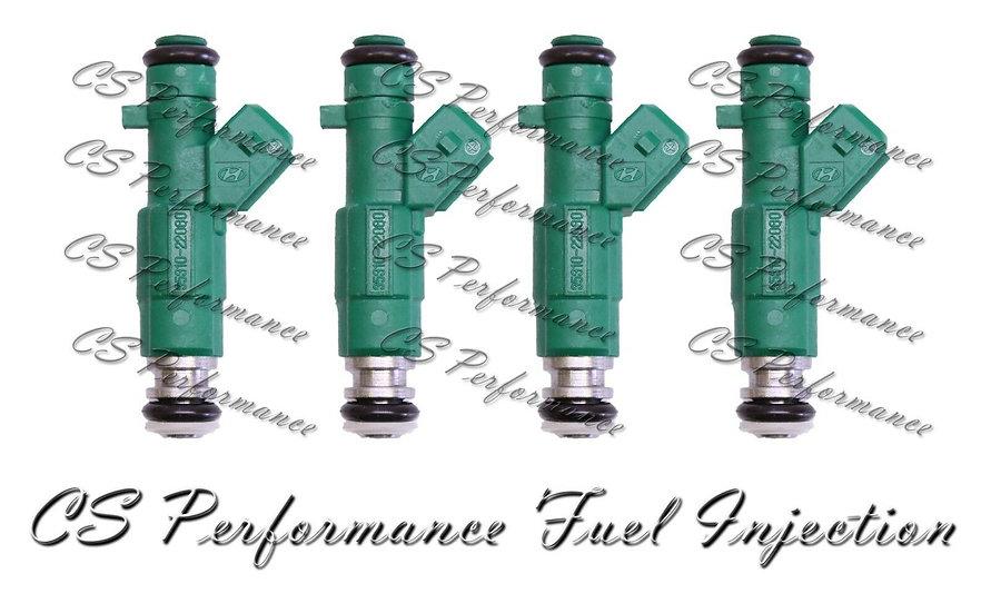 OEM Fuel Injectors (4) 35310-22060 set for Hyundai Accent X-3 1.3i 12V