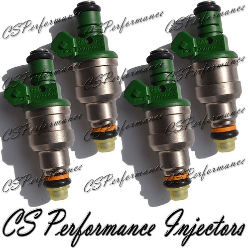 OEM Bosch Fuel Injectors Set (4) 0280150834 for 93-94 Dodge Plymouth 2.5 I4 Flex