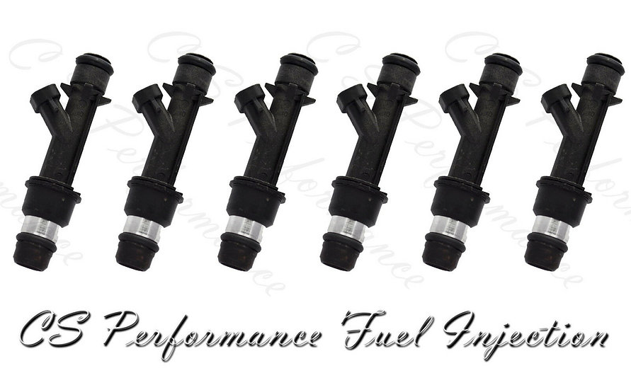 OEM Delphi Fuel Injectors Set (6) 12586554 for Buick Chevy Pontiac 3.1 3.4 V6