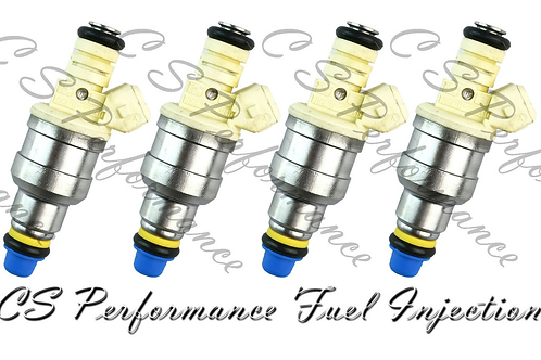 Fuel Injectors Set for Hyundai (4) 35310-22040 Rebuilt & Flow Matched in the USA