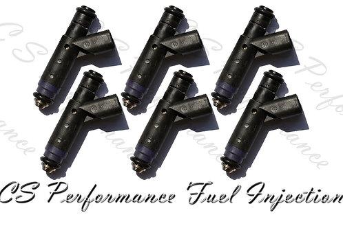 OEM Fuel Injectors Set (6) 4F2E-A4B for 2004-2005 Ford Mercury 3.9L 4.2L V6