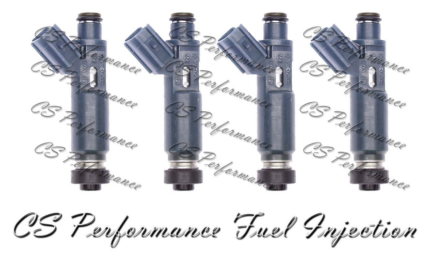 OEM Denso Fuel Injectors Set (4) 23250-22010 for 1998-1999 Chevy Toyota 1.8L I4