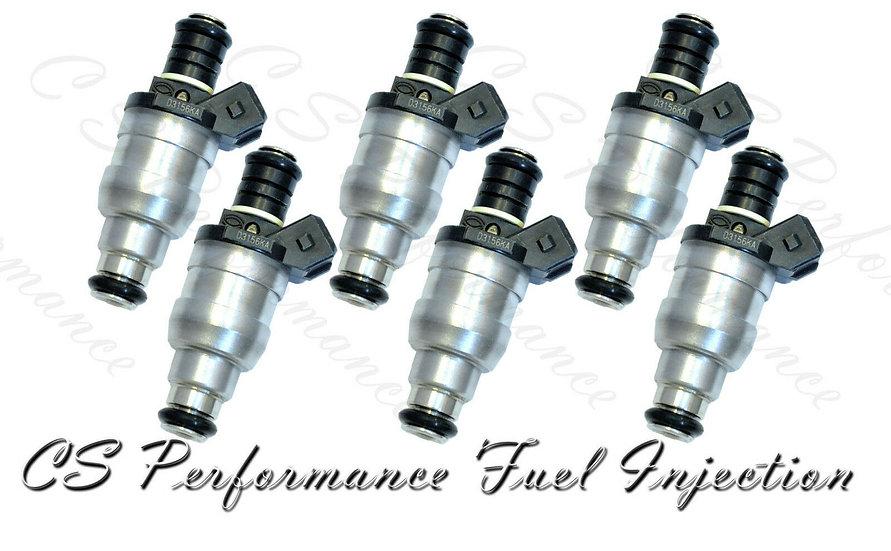OEM Lucas Fuel Injectors Set (6) D3156KA for 1993-1997 Jaguar 4.0L L6
