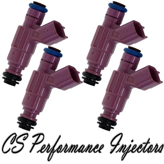 OEM Bosch Fuel Injectors Set (4) 0280156030 for 2003 Chrysler Dodge 2.4L I4 03