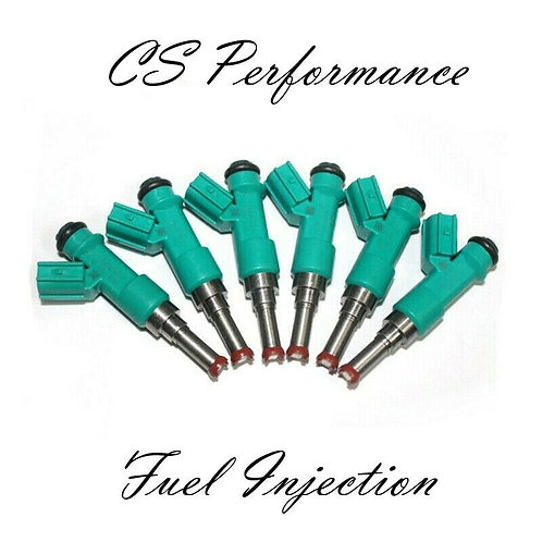 12 Hole Denso Fuel Injectors Set (6) 23250-0P010 for 10-18 Lexus Toyota 3.5 V6