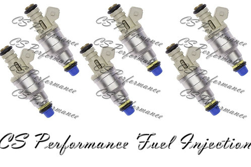 OEM Fuel Injectors Set (6) F47E-A2E for 1995-2000 Ford Mazda Mercury 3.0 V6