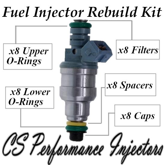 Fuel Injectors Rebuild Repair Kit fits 0280150947 for 91-97 Ford 7.5L 5.0L V8