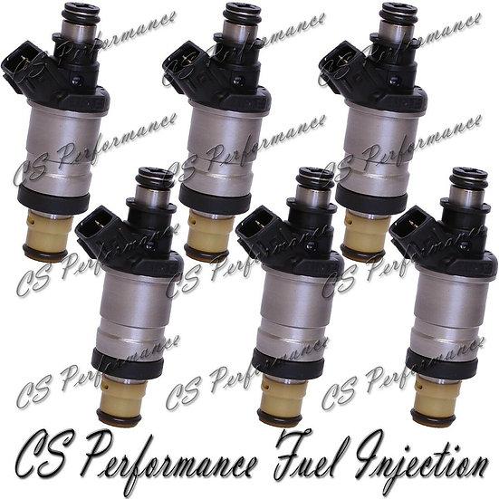 Fuel Injectors (6) for 97-02 Honda Acura 3.0 V6 CL Accord 98 99 01 J30A1 240cc