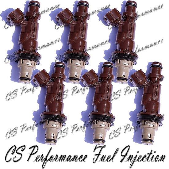 OEM Denso Fuel Injectors Set (6) 23250-62040 for 1999-2004 Toyota 3.4L V6