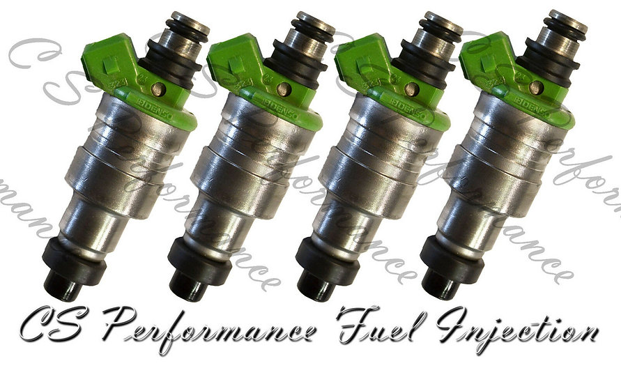 OEM Denso Fuel Injectors Set (4) 195500-1670 for 1988-1992 Mazda Mercury 1.6 I4