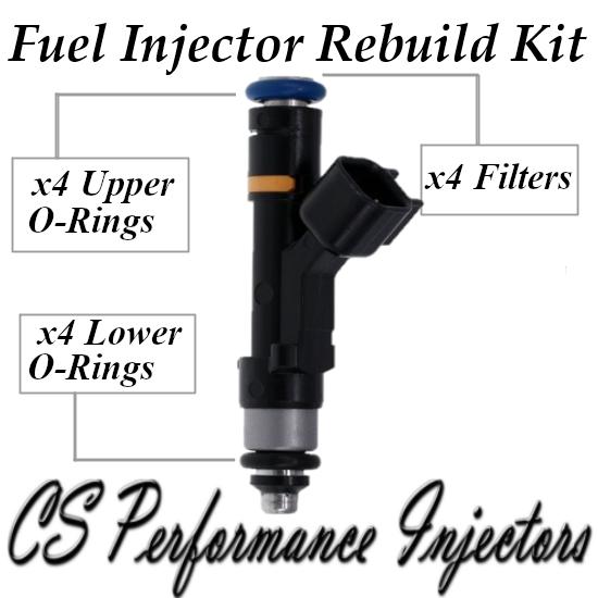 Fuel Injectors Rebuild Repair Kit fits 0280158103 for 04-15 Mazda 2.0 2.3 I4