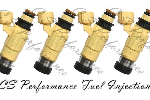 OEM Nikki Fuel Injectors Set (4) CDH-240 for Chrysler Dodge Mitsubishi 2.4L 2.0L