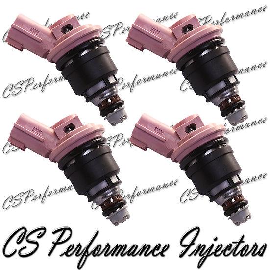 OEM Jecs Fuel Injectors Set (4) for 1991-1999 Nissan 1.6 I4 - (P) (4)