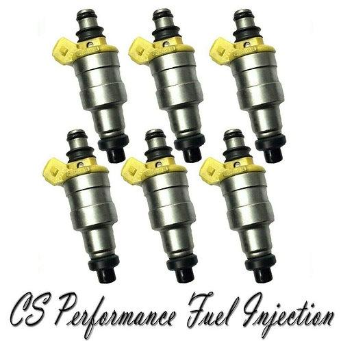 OEM Denso Fuel Injectors Set (6) 195500-1330 for 1988-1991 Subaru XT 2.7L H6