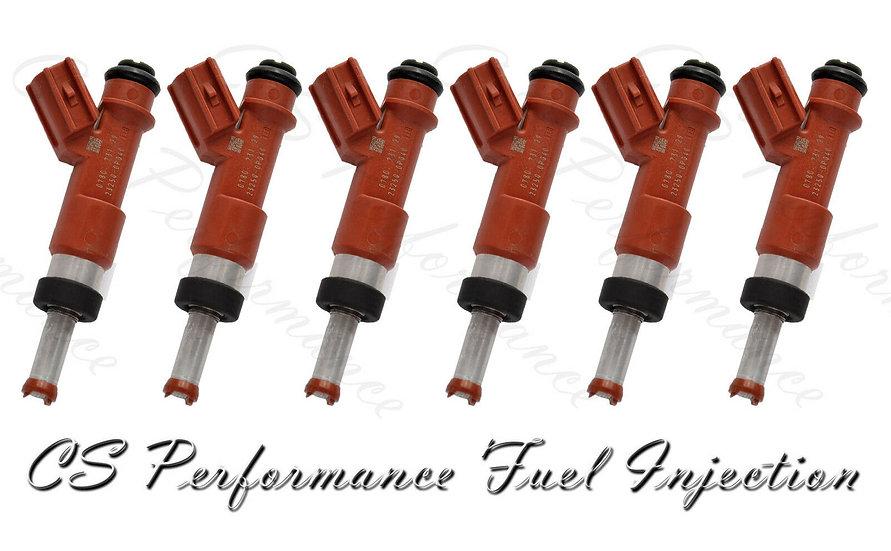 OEM Denso Fuel Injectors Set (6) 23250-31050 for 2006-2015 Lexus Toyota 3.5L V6