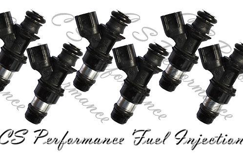 OEM Delphi Fuel Injectors Set (6) 12568155 for 05-07 Buick Chevy Pontiac 3.5 V6