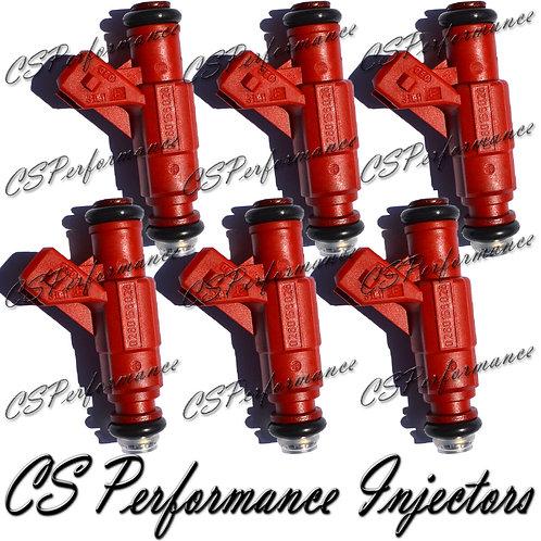 OEM Bosch Fuel Injectors Set (6) 0280156028 for 02-04 Ford Mercury 4.0L V6 FLEX