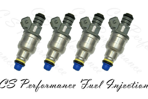 OEM Fuel Injectors (4) Set Denso for Ford 968F-AC for 96-99 Ford Mercury 2.0 I4