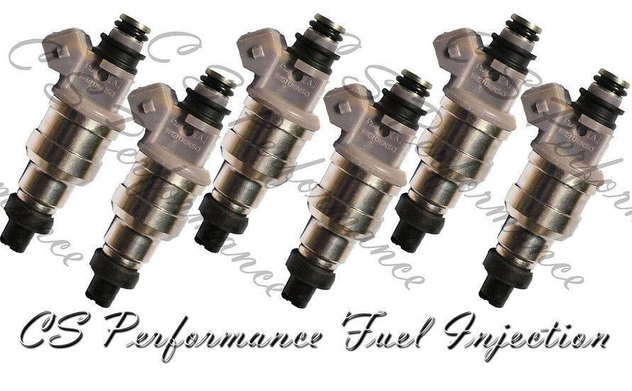 OEM Denso Fuel Injectors Set (6) 195500-2630 for 1993-1995 Ford Taurus 3.2L V6