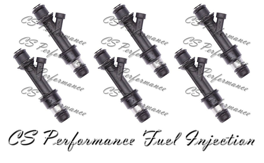OEM Delphi Fuel Injectors Set (6) 25313185 for 2002-2004 Buick Chevy GMC 4.2 I6