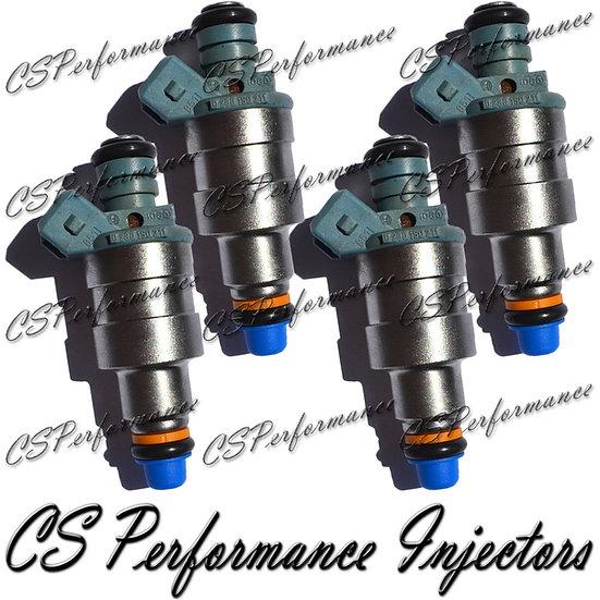 OEM Bosch Fuel Injectors Set (4) 0280150211 for 84-85 BMW Renault 2.2L 1.8L I4