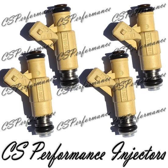 OEM Bosch Fuel Injectors Set (4) 0280155705 for Ford Mercury 2.0L I4 1997-2002