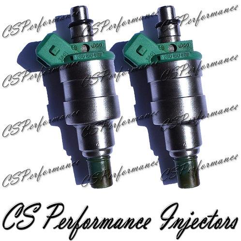 OEM Bosch Fuel Injectors Set (2) 0280150402 for 84-87 Ford Mercury 3.8L 5.0L V6